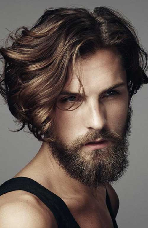 Boy Medium Style Hairstyles 2015