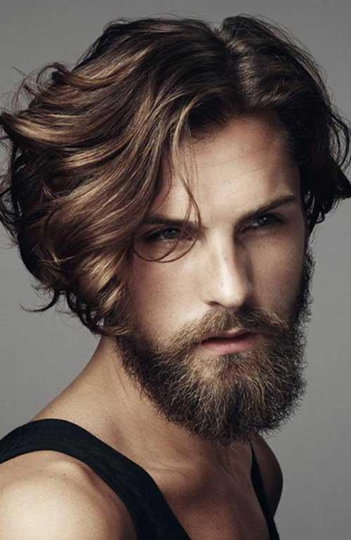 Boy Medium Style Hairstyles 2015