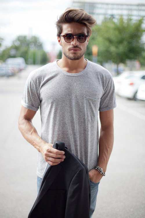 Stupendous 2014 2015 Boys Hairstyles Mens Hairstyles 2016 Hairstyle Inspiration Daily Dogsangcom