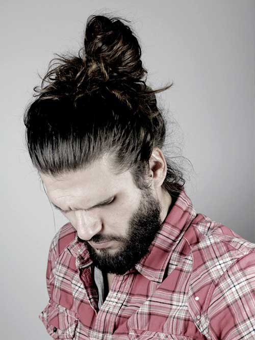 Boys Bun Hairstyles 2015