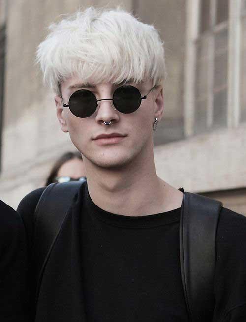 Boys Platinum Blonde Hair Styles