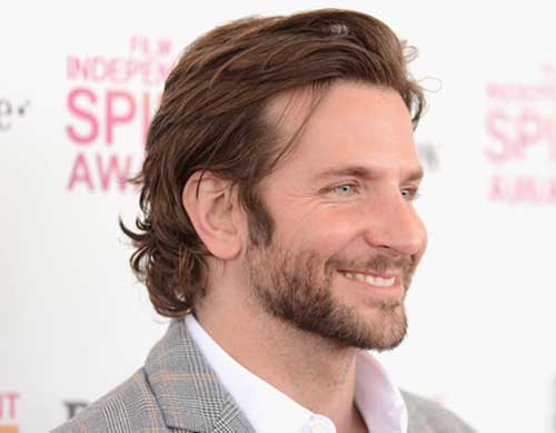 Bradley Cooper Long Hair Cut Pics