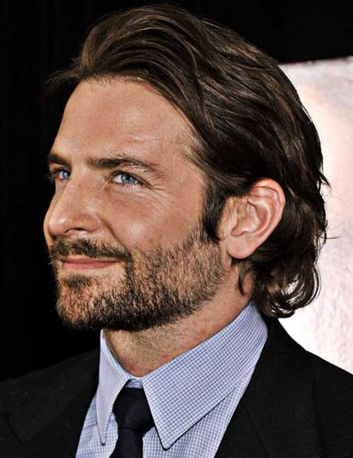 Bradley Cooper Long Hair Mens Hairstyles