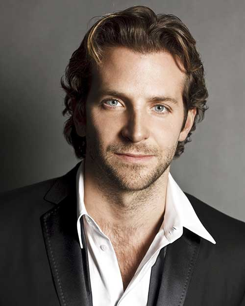 Best Bradley Cooper Long Hairstyle