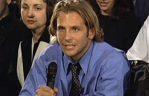 Bradley Cooper Old Style Long Hair Pics