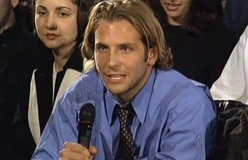 Bradley Cooper Old Style Long Hair Pics