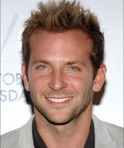 Bradley Cooper Short Hair for Men
