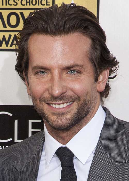 Bradley Cooper Wavy Long Hair Styles