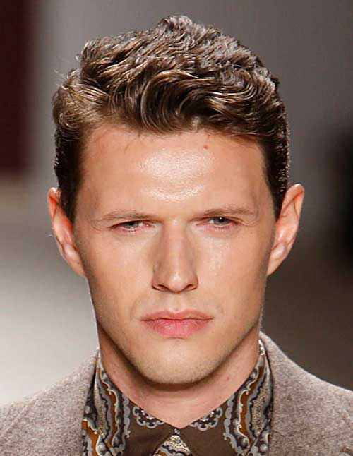 Casual Curly Hairstyles for Guys