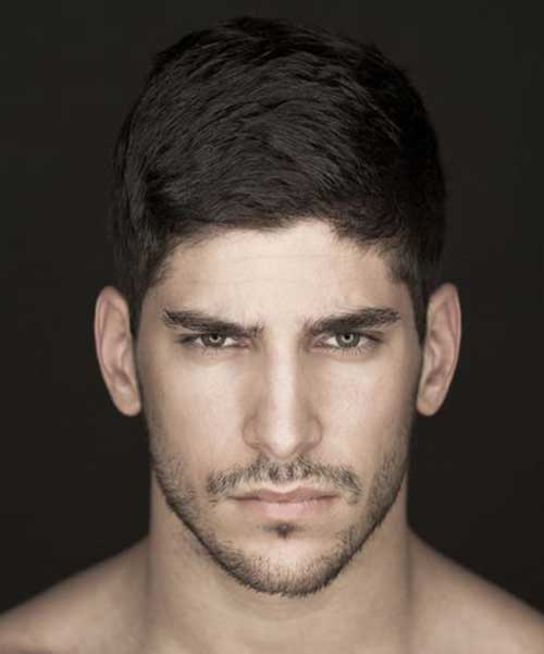 Casual Hairstyles for Thick Hair Men Pictures