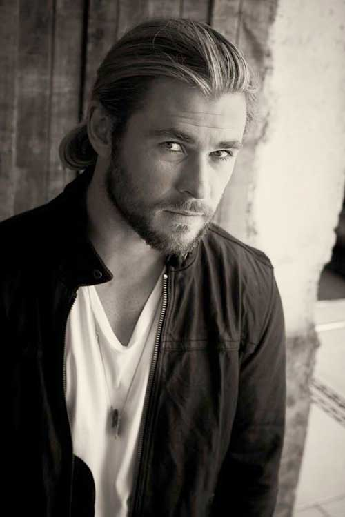 Chris Hemsworth Long Hairstyles