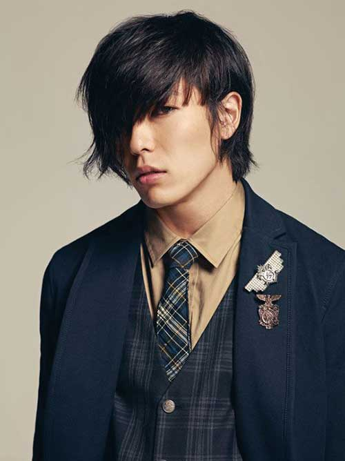 Cool Korean Hairstyles Ideas for Men