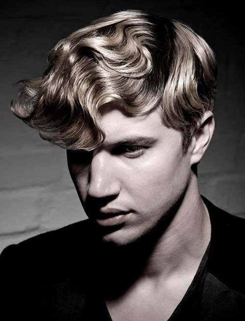 Cool Long Top Curly Hairstyles for Men
