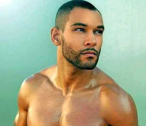 Cool Short Shaved Haircuts for Black Men