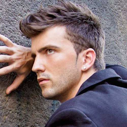 Cool Short Spiky Hairstyles for Mens