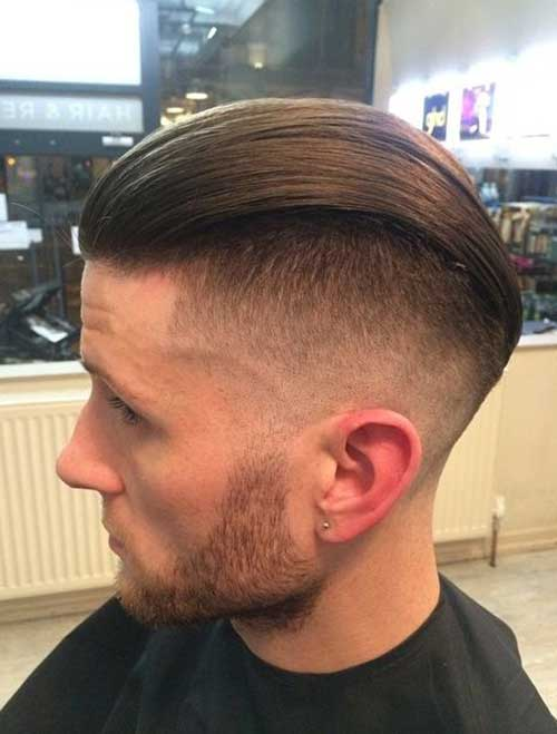 Cool Slicked Back Men Hairstyle Pics