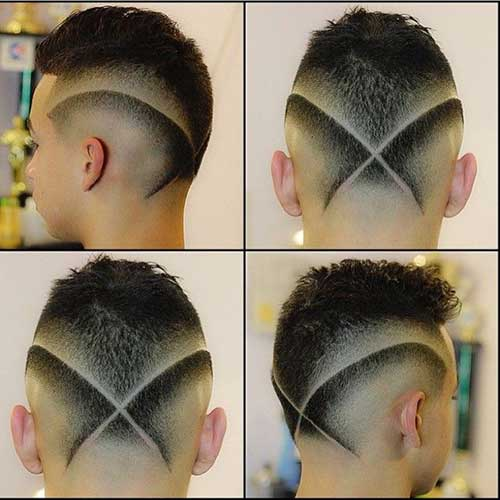 Crazy Mens Shaved Haircuts