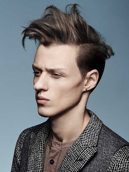 Remarkable 10 Crazy Mens Hairstyles Mens Hairstyles 2016 Hairstyles For Men Maxibearus