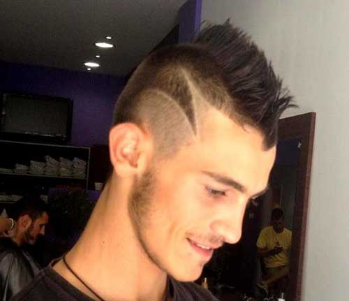 Crazy Side Shaved Hairstyles for Men