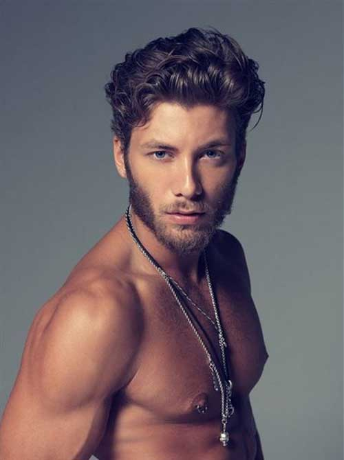 Curly Hairstyles Ideas for Men