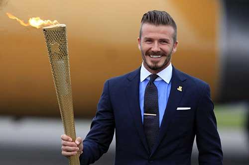 David Beckham Business Hairstyles 2014