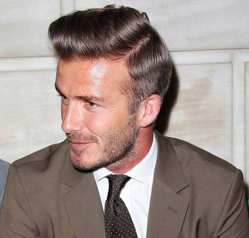David Beckham Classy Hairstyles 2014