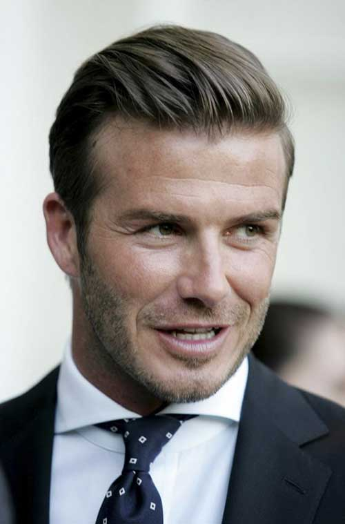 David Beckham Haircut for Men