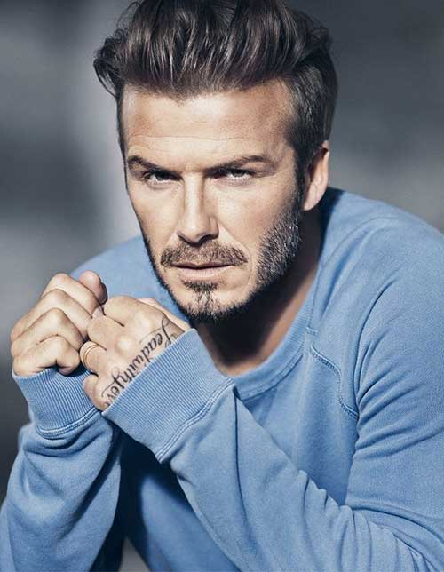 David Beckham Men Haircuts