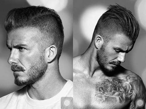 David Beckham Hairstyle Undercut