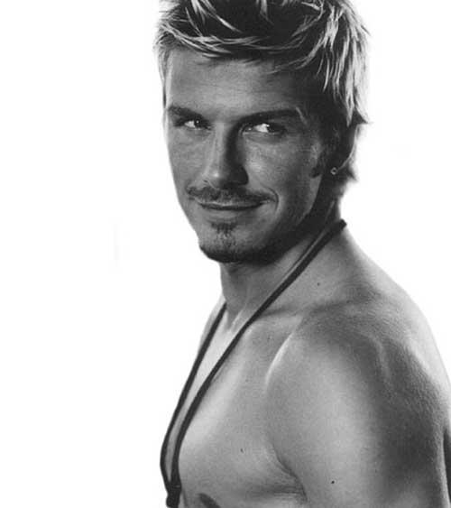 Cool David Beckham Hairstyles 2014