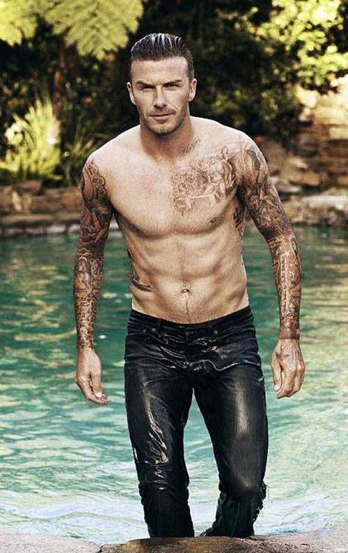 David Beckham Latest Hairstyles 2014
