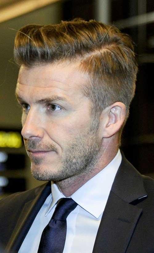 David Beckham Modern Hairstyles 2014