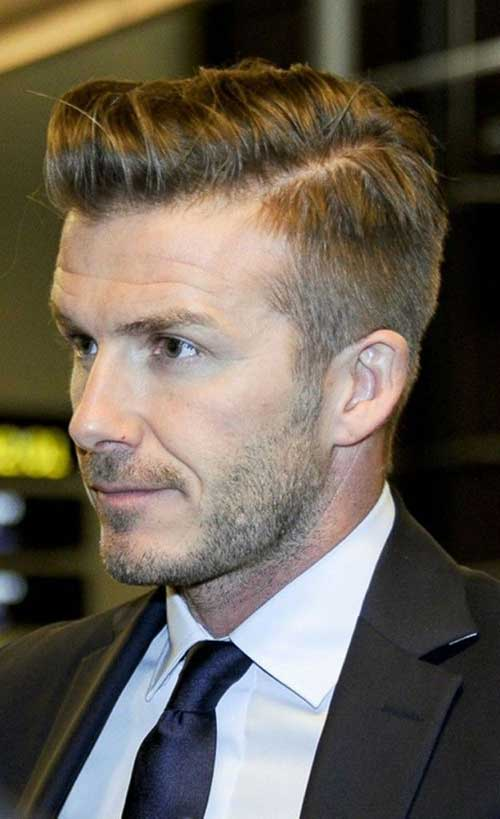 Cool 20 David Beckham Hairstyle 2014 Mens Hairstyles 2016 Hairstyles For Women Draintrainus