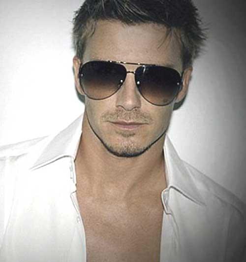 David Beckham Short Stylish Hairstyles