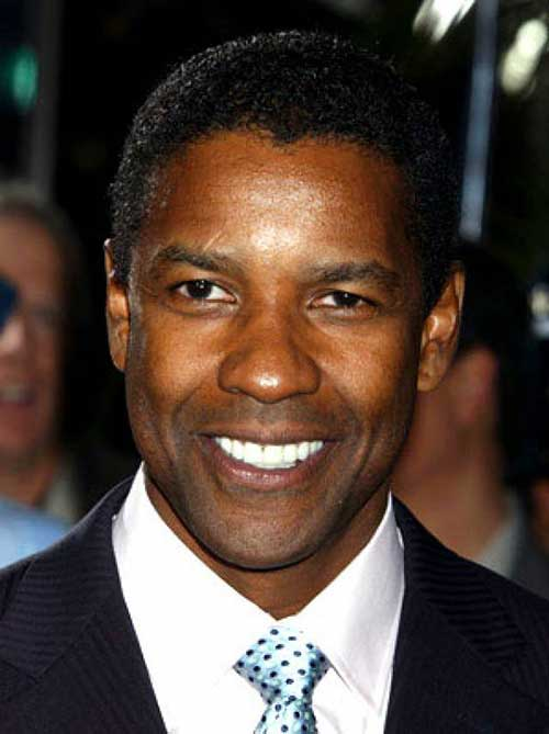 Denzel Washington Short Hair