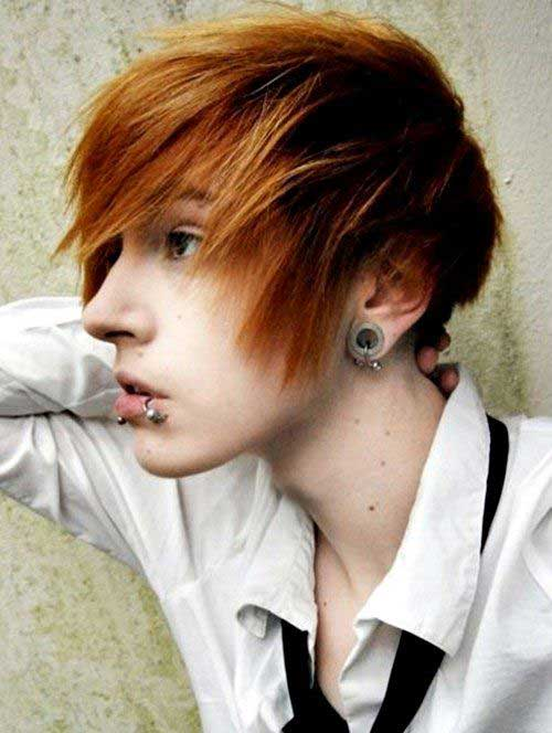 Wondrous 10 New Emo Hairstyles For Boys Mens Hairstyles 2016 Hairstyles For Women Draintrainus