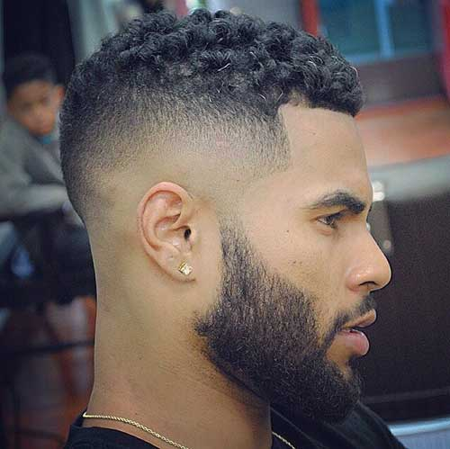Fade Haircut Black Male