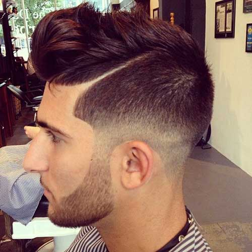 Best Faded Men Haircuts