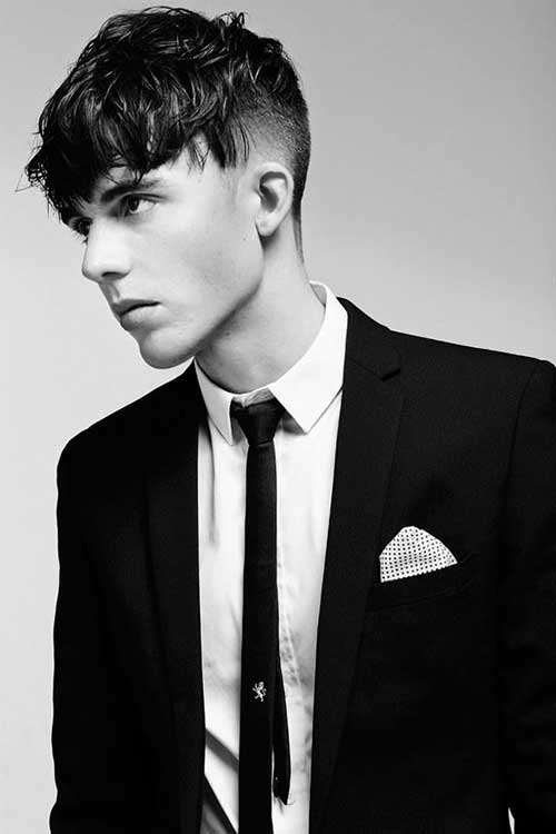 Fringe Short Hairstyle For Men