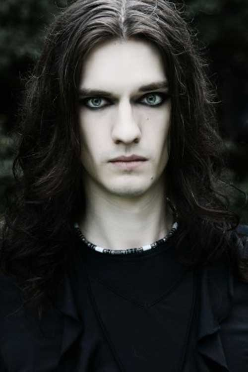 Goth Long Hairstyles for Men