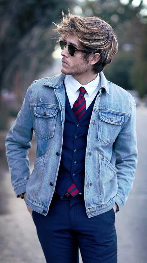 Great Mens Medium Hairstyles