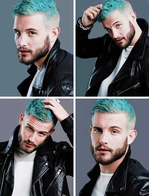 Guy with Blue Hair