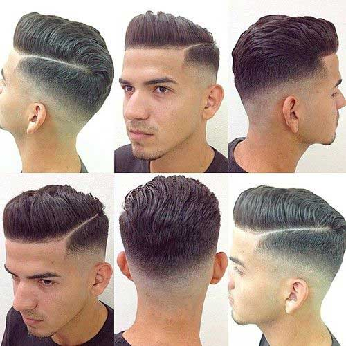 Hair Upper Cut Style Men