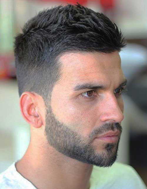 Mens haircuts bangs