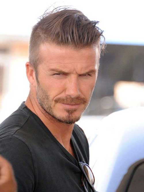 Grey Hairstyle for Men with Thin Hair