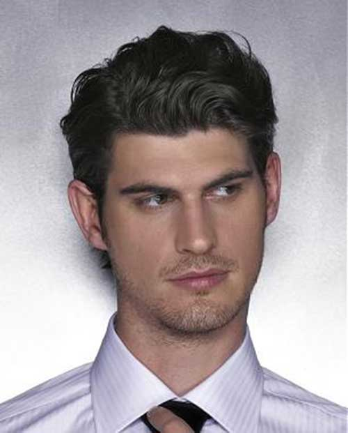 Haircuts for Wavy Classy Hair Men Styles