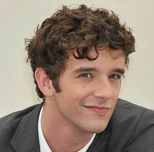 Short Hairstyles for Guys with Curly Hair