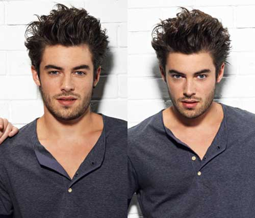 Spiky Hairstyles for Long Faces Men