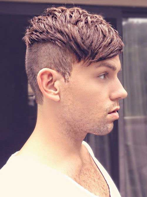Hairstyles for Men 2014 Undercut Style