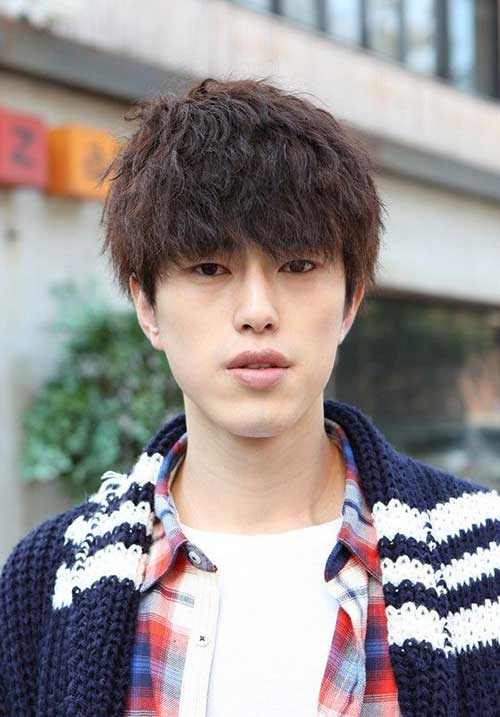 Best Japanese Hairstyle with Bangs for Men